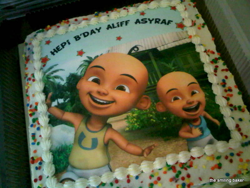 Upin Ipin Cake
