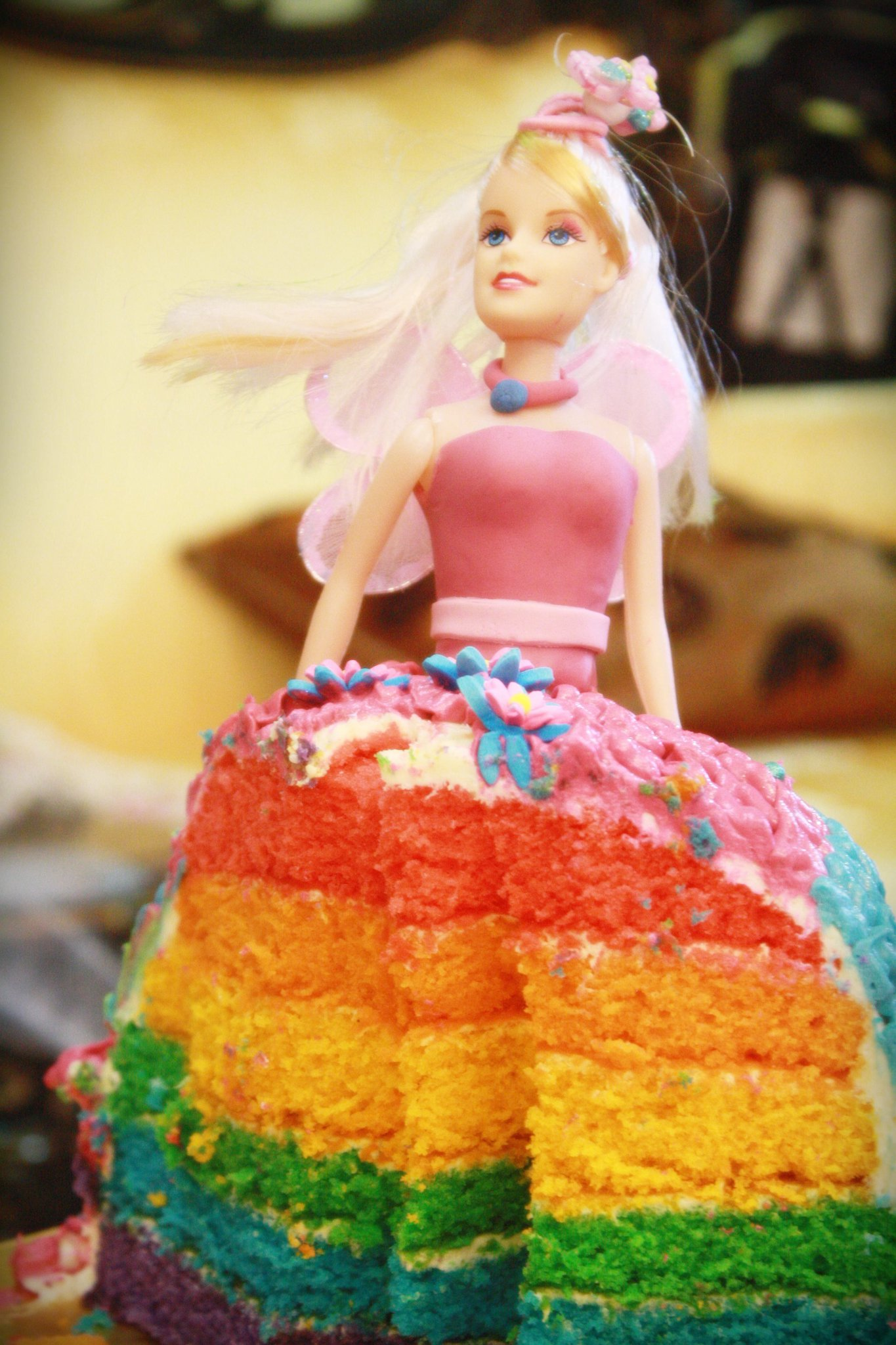 Rainbow Princess Cake For Princess Marissa